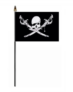 Pirate Brethren of the Coast Hand Flag - Small